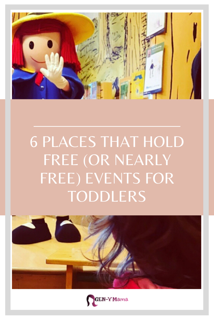 6 Places that Hold Free or Nearly Free Events for Toddlers