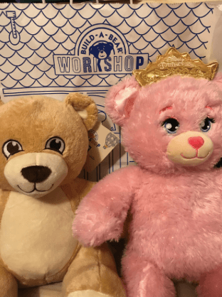 Build-a-Bear Workshop Pay Your Age Day Finished Bears for 2 Dollars Plus Tax