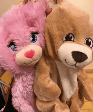 Build-a-Bear Workshop Pay Your Age Day Unstuffed Bears