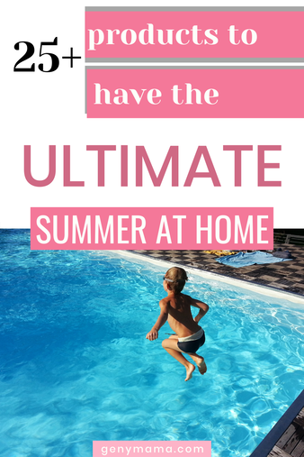 25+ Products to Have the Ultimate Summer at Home 2020