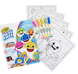Easter Gift Guide Baby Shark Coloring Sheets