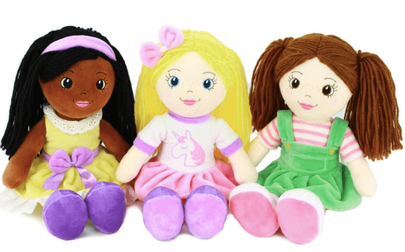 Easter Gift Guide Playtime with Eimmie doll set