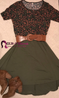 Lularoe Review Classic T and Carly Dress