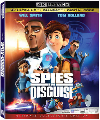 Spies in Disguise Flies onto Digital, Blu-ray & 4K March 10th