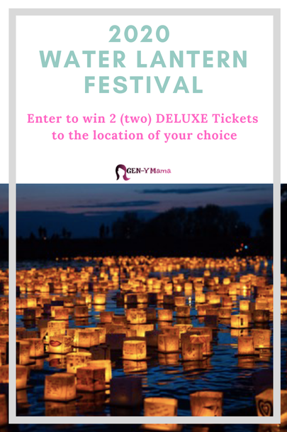 2020 Water Lantern Festival Ticket Giveaway