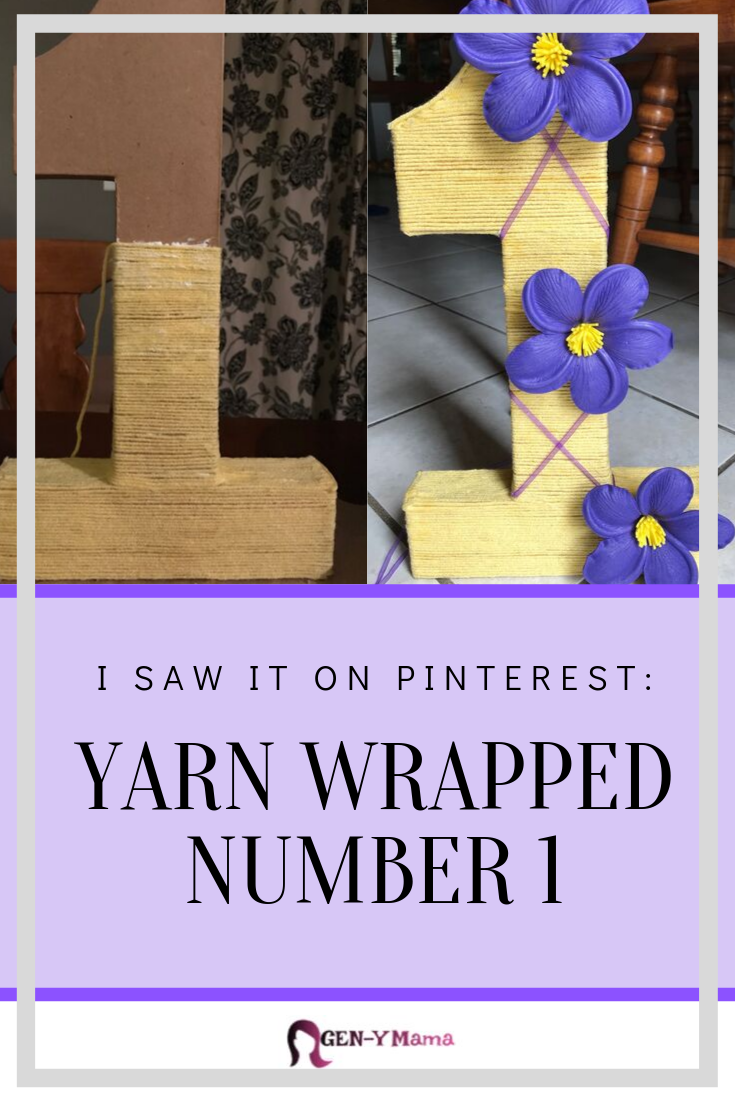I Saw It on Pinterest Yarn Wrapped 1