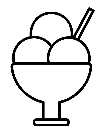 National Ice Cream Day Coloring Sheet
