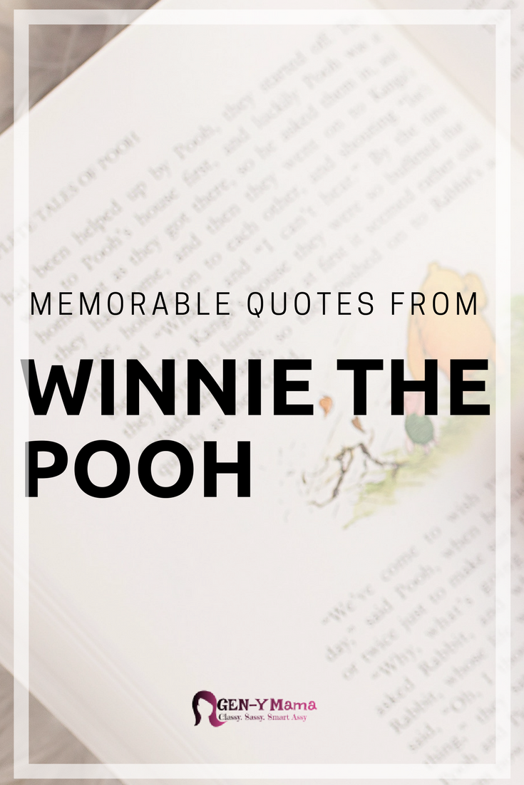 Memorable Quotes from Winnie the Pooh