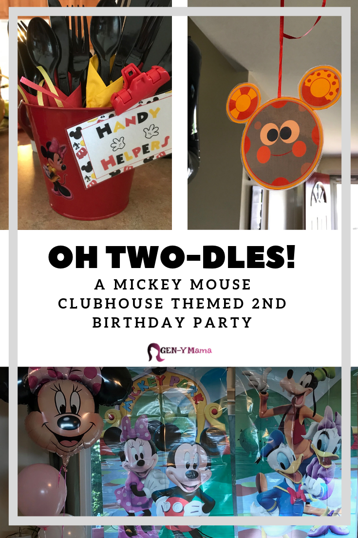 Mickey Mouse Clubhouse 2nd Birthday Party