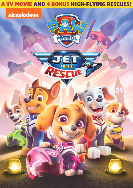 PAW Patrol: Jet to the Rescue Review | New High-Flying Adventure Coming Soon to DVD