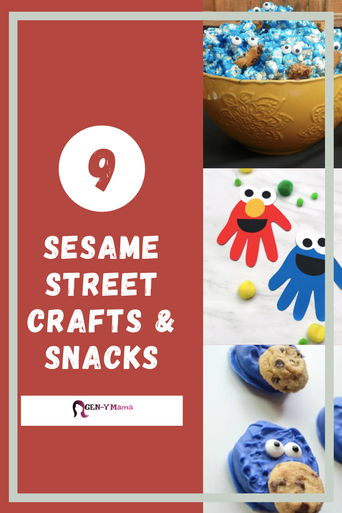 Sesame Street Crafts and Snacks