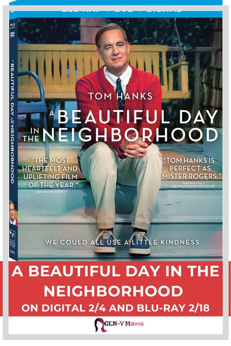 A Beautiful Day in the Neighborhood available on digital 2/4 and Blu-ray 2/18