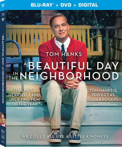 A Beautiful Day in the Neighborhood available on digital 2/4 and 4k, blu-ray and DVD 2/18