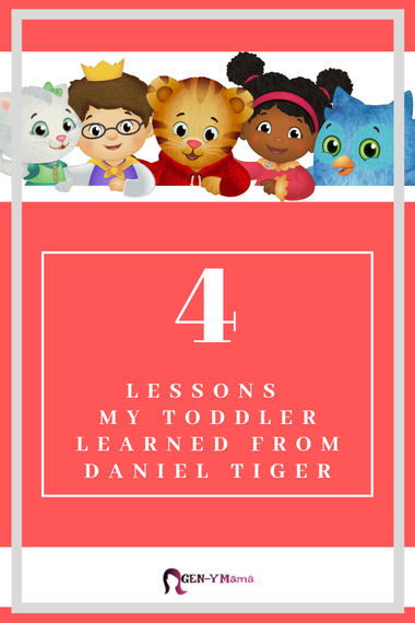 4 Lessons My Toddler Learned from Daniel Tiger