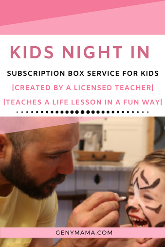 Kids Night In Box Allows Kids to Play with a Purpose