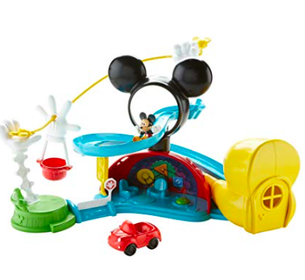 Mickey Mouse Zip, Slide, Zoom Playset
