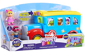 Muppet Babies School Bus