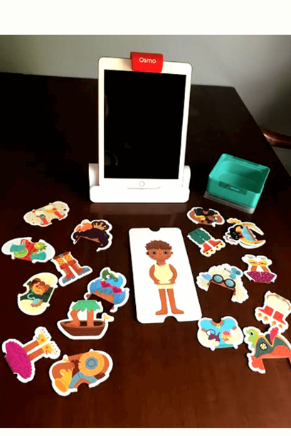 Osmo Review Featuring Costume Party and Stories Games for ages 3-5