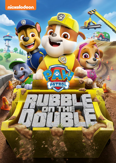 PAW Patrol Rubble on the Double DVD available January 21st