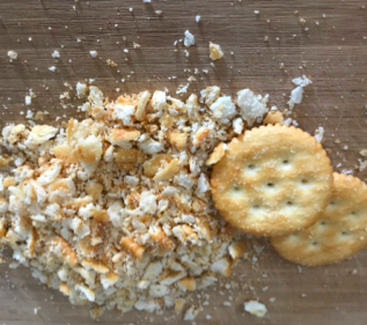 Six Ingredient Meatloaf Ritz Crackers
