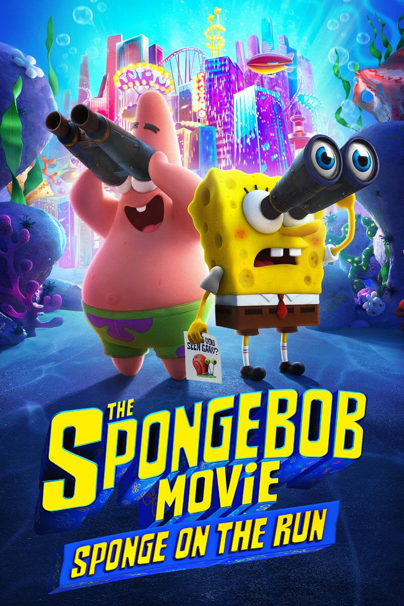The Spongebob Movie Sponge on the Run Now Streaming on Paramount+