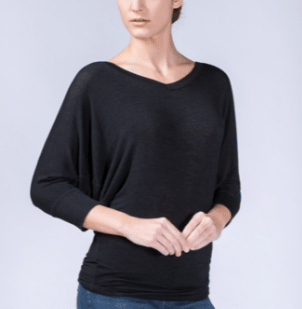 Wantable Review Elbow V Neck Top